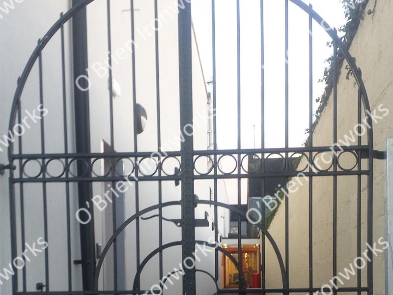 Pedestrian Iron Gates